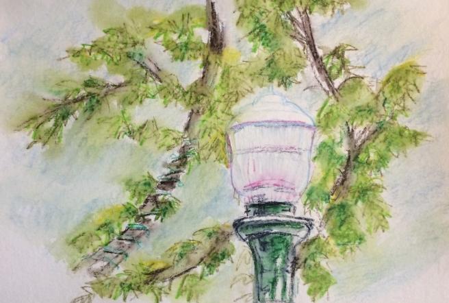 Montrose Lamp post